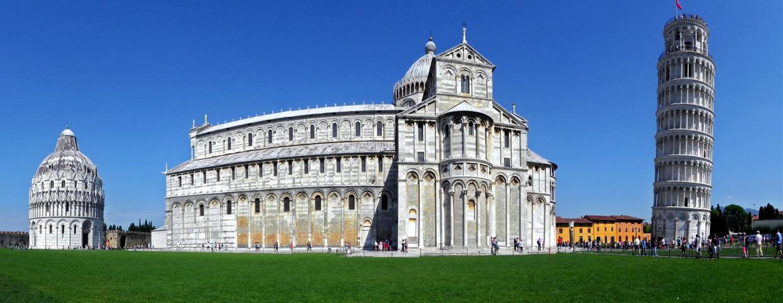 Piazza dei Miracoli e Torre Pendente